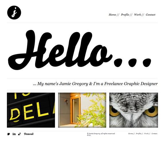 Jamie Gregory | Graphic Designer