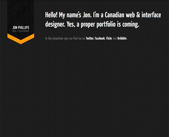 Jon Phillips | Web Designer