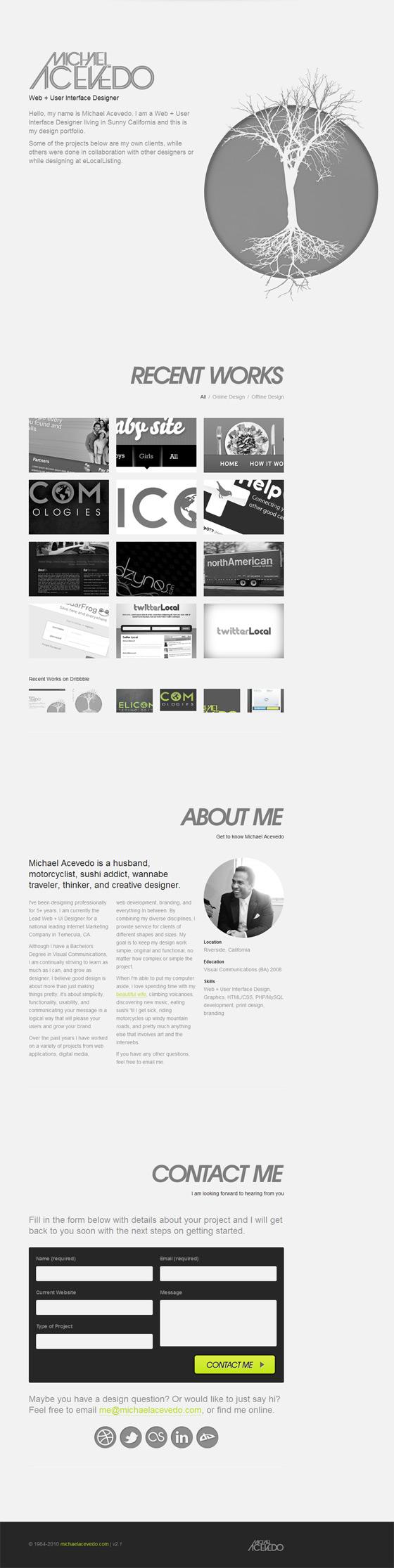 Michael Acevedo | Web Designer