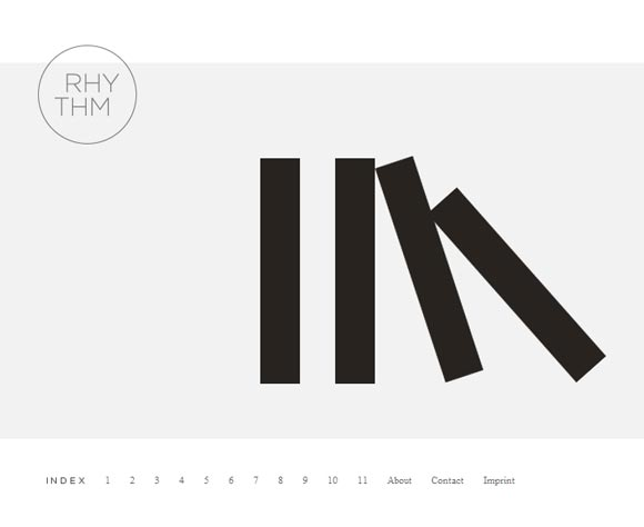 Rhythm Design Minimal Exhibit