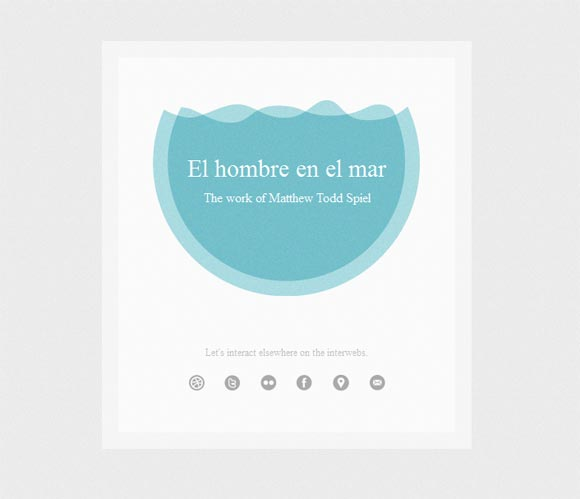 TheManInTheSea | Web Design