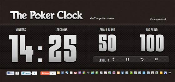 Poker time clock download
