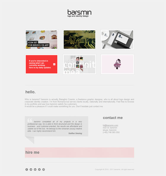 Barsmin   Graphic Design