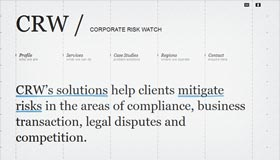 Corporate Risk Watch