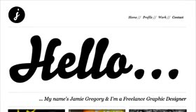 Jamie Gregory | Graphic Designer