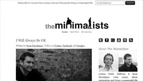 The Minimalists