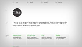 Things | Web Design