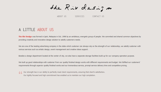 The Riv Design