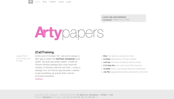 Arty Papers