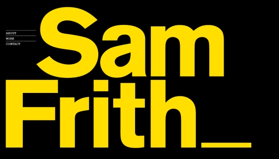Sam Frith