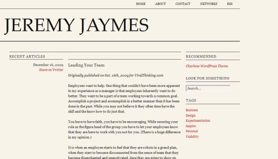 Jeremy Jaymes