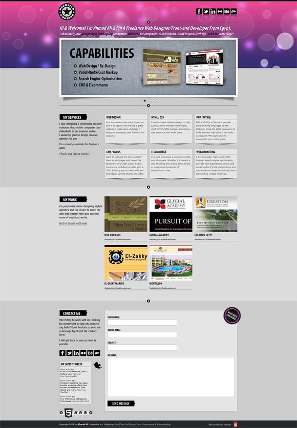 Rockstar Working   Web Design