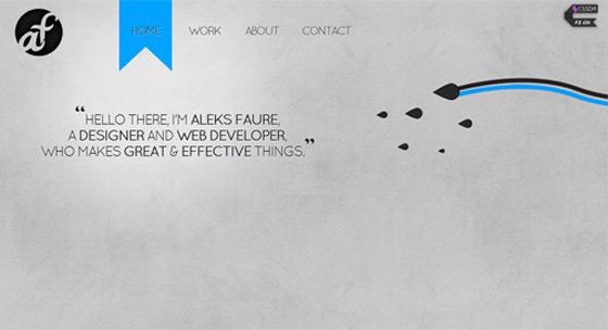 Aleks Faure | Web Designer