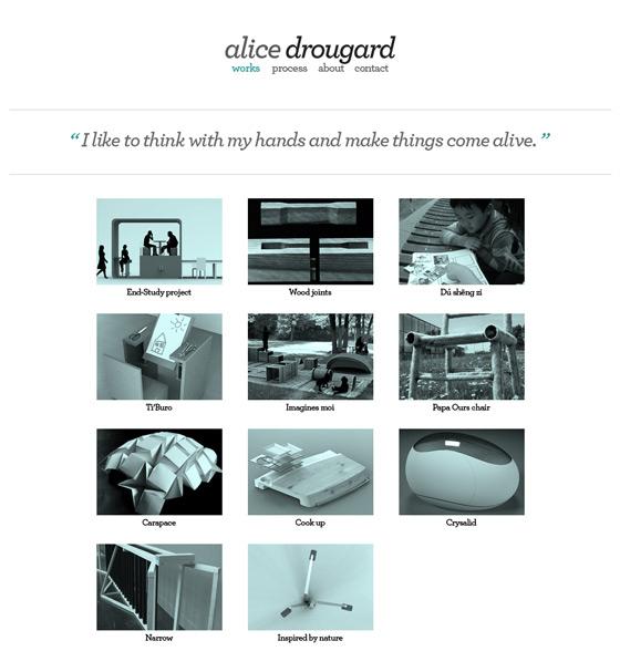 Alice Drougard   Designer