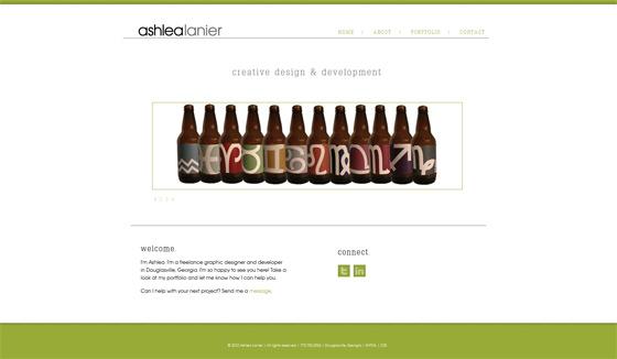 Ashlea Lanier   Web Design