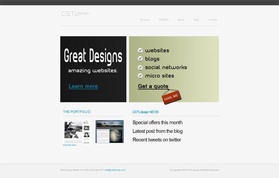 CSTL Design   Web Design