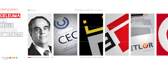 Celeuma | Web Design