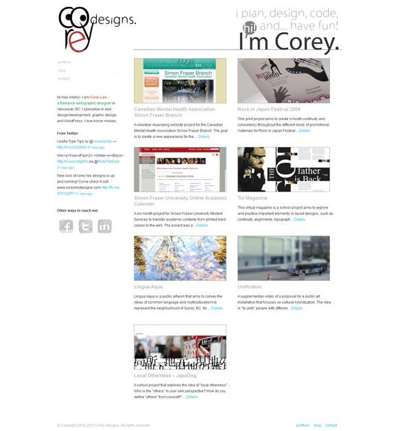 Corey Lee Designs