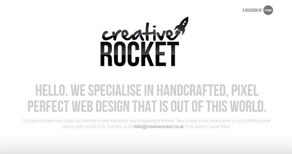 Creative Rocket | Web Design