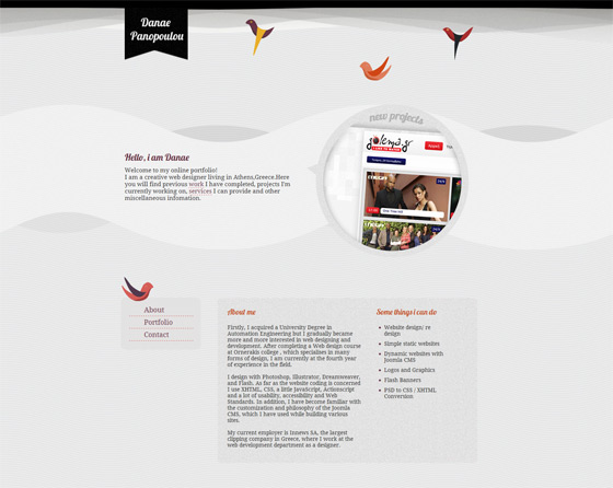Danae Panopoulou   Web Designer
