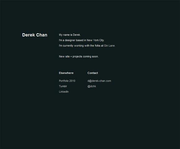 Derek Chan   Designer