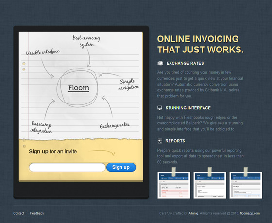 Floom Online Invoicing