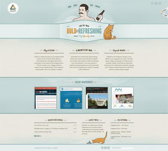 Forever Heavy | Web Design