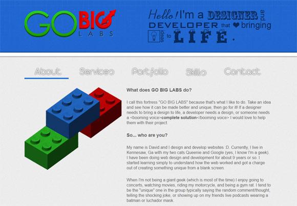 Go Big Labs | Web Design