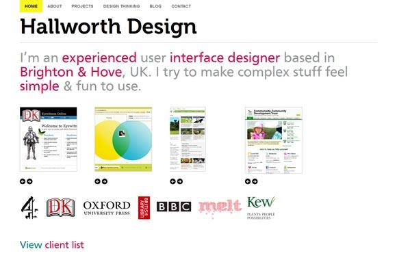 Hallworth Design | Web Design