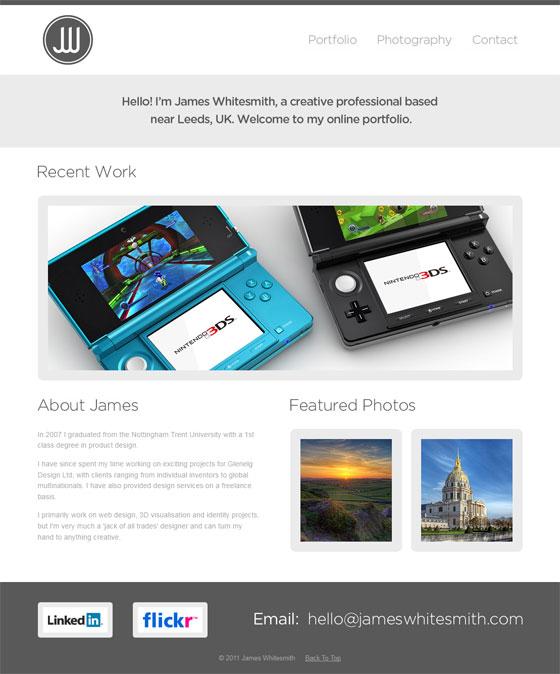 James Whitesmith | Web Designer