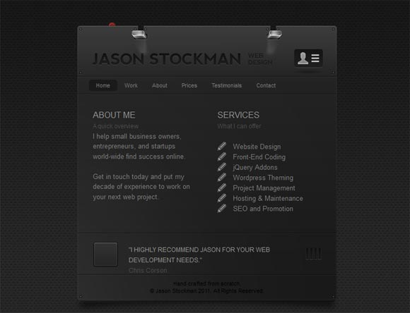 Jason Stockman | Web Design