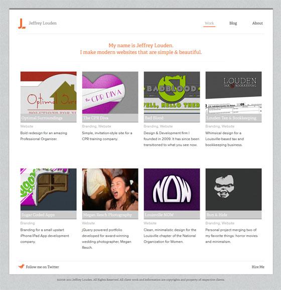 Jeff Louden | Web Design