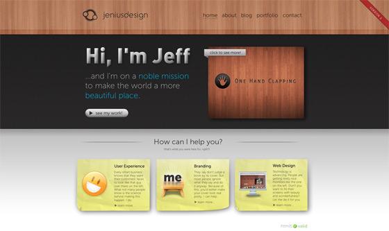 Jenius | Web Design