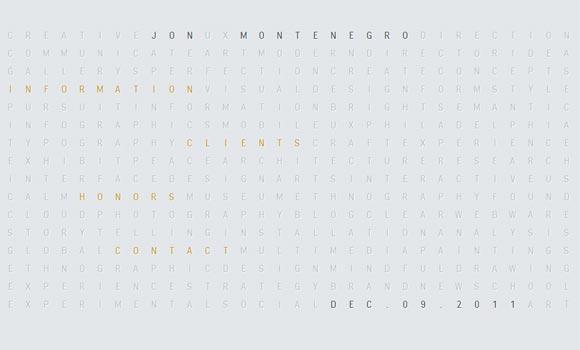 Jon Montenegro   Designer