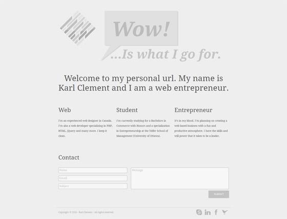Karl Clement | Web Designer