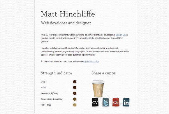 Matt Hinchliffe | Designer