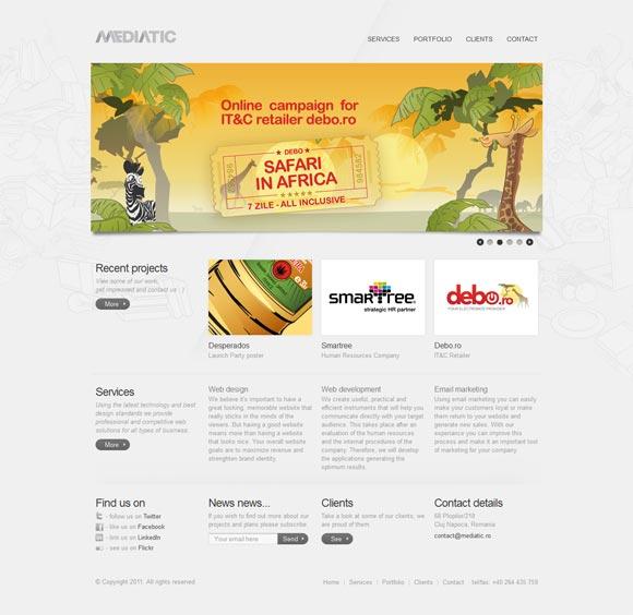 Mediatic | Web Design