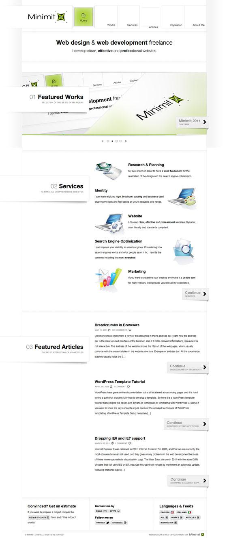 Minimit |Web Design
