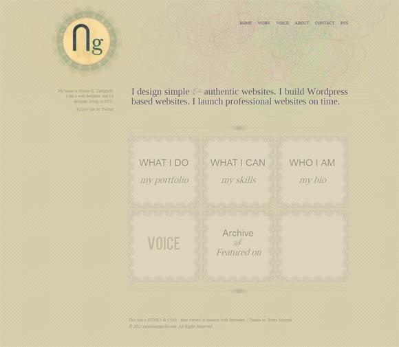Namie Taniguchi | Web Designer