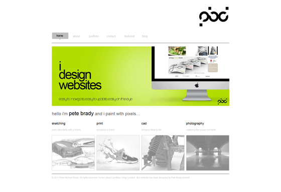 Pete Brady Design | Web Designer