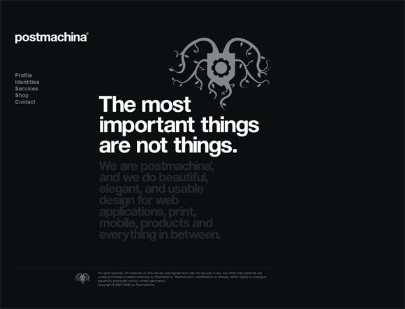 Postmachina | Web Design
