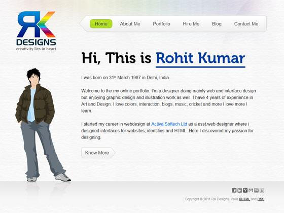 RK Designs | Web Designer