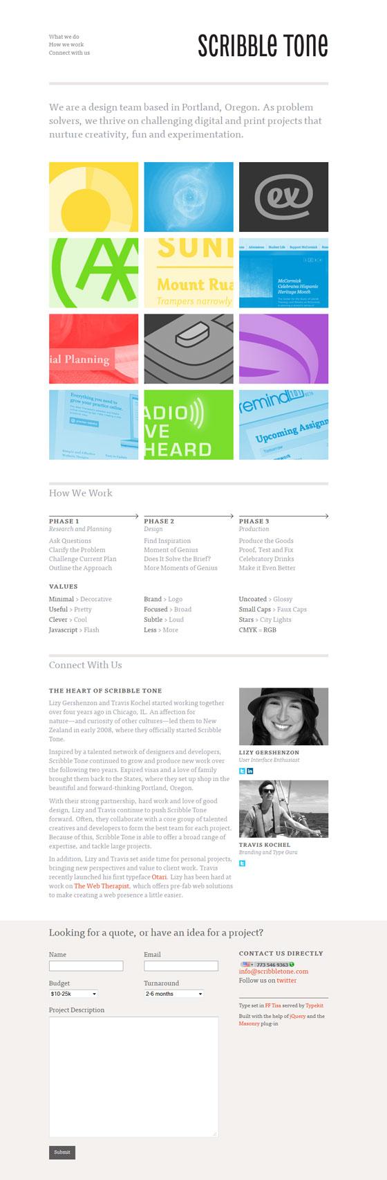 Scribble Tone | Design