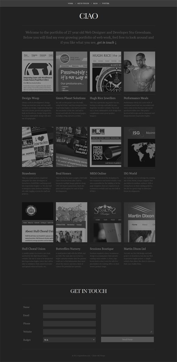 Stu Greenham | Web Designer