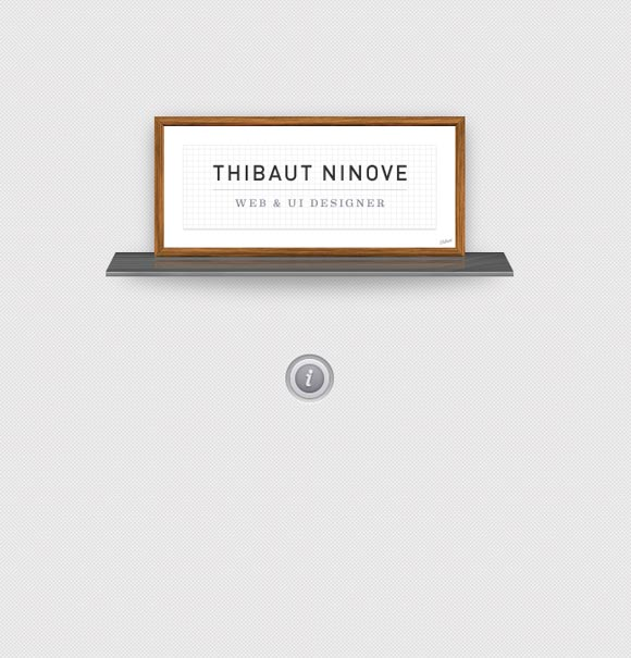Thibaut Ninove   Web Designer
