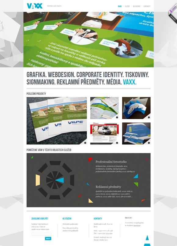 Vaxx | Web Design