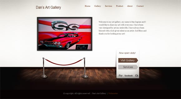 Dan's Art Gallery