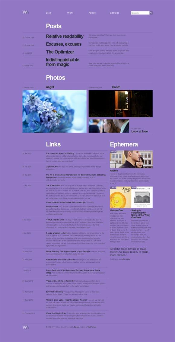 Wilson Miner | Web Designer