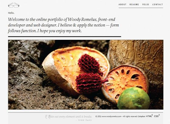 Woody Romelus | Web Designer