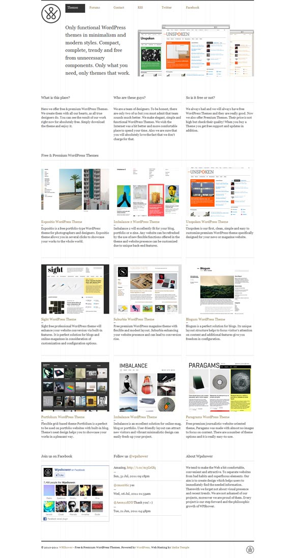 Wpshower | WordPress Themes